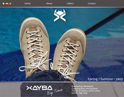 CLIENT XAYBA FOOTWEAR - BRANDING UX/UI DESIGN