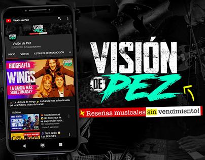 """Branding y creacion de contenido para """"Visión de Pez"""""""