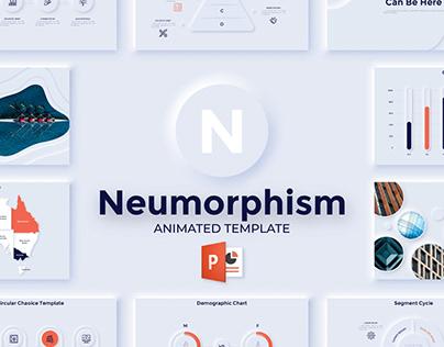 Neumorphism Slides For Powerpoint