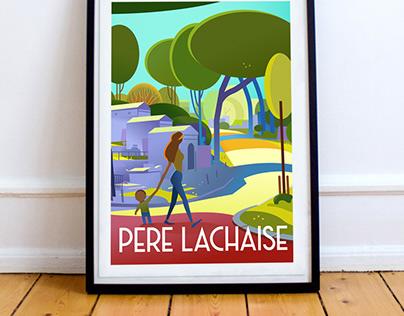 Père Lachaise - Paris 20 ème