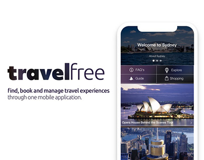 travelfree | Mobile UX/UI | Travel & Tourism Mobile App