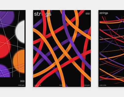 Strings   Poster Series
