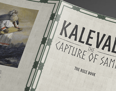 Kalevala the capture of Sampo roleplay board game