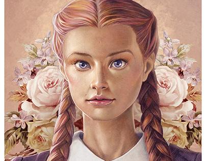[Ilustração] Meninas e Flores