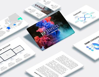 Slides Showcase Mockup (.PSD)