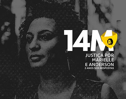 14M | logo + mídias sociais