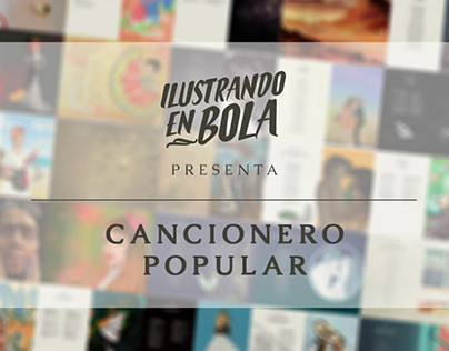 Ilustrando en Bola: Cancionero Popular