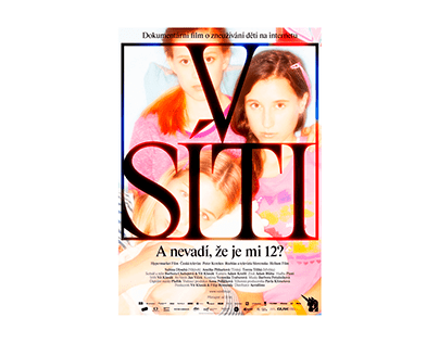 V síti (Caught in the Net) – visual identity