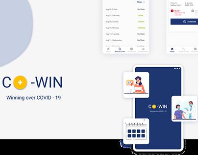 Case Study: Co-Win Mobile Application Concept