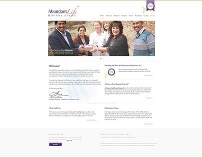 Abundant Life Ministry Center Website