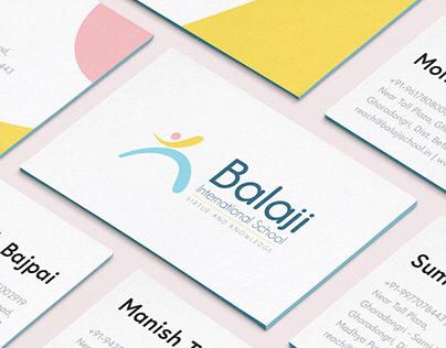Branding & Identity - Balaji International School