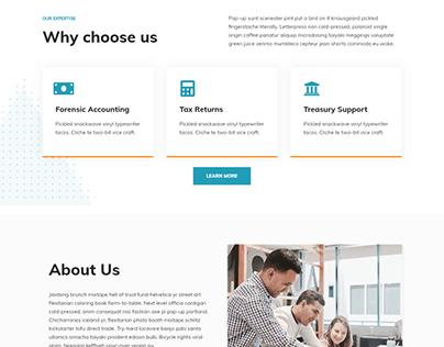 Services WordPress website