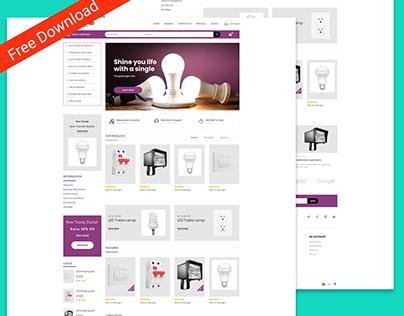Lightingbd is a free Adobe Xd design file.