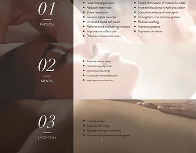 Webshop for Rose Massage