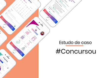 Estudo de caso: App #concursou