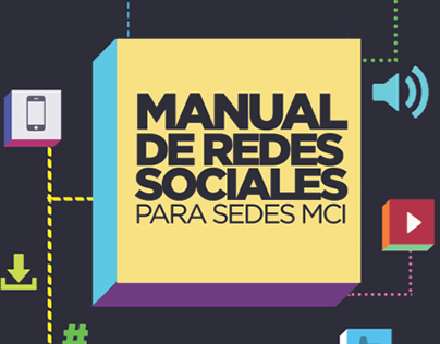 Manual de Redes Sociales - Sedes MCI (2014)