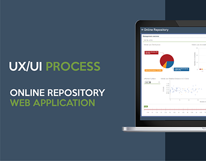 Online Repository - UX/UI Process