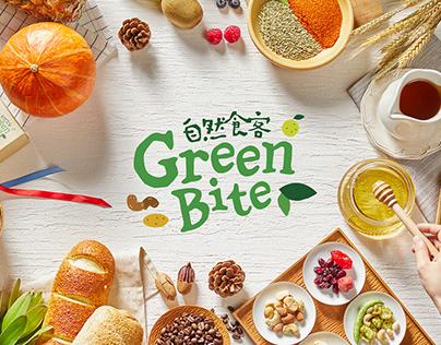GreenBite healthy snack Branding & Packaging Design