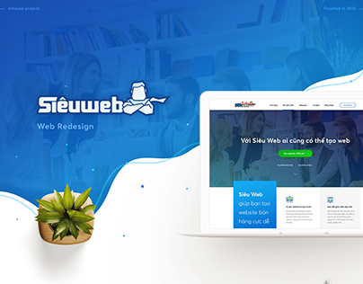 SIEUWEB UI/UX Website Redesign