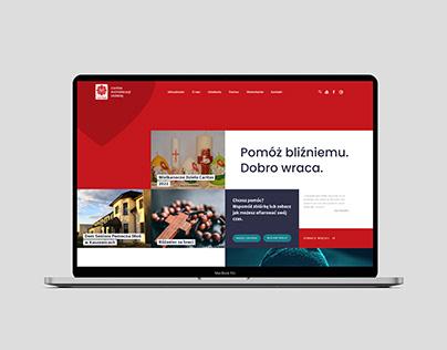 Caritas Archidiecezji Łódzkiej   Webdesign