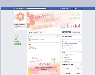 Facebook Page Revamp | Polka Dots Salon