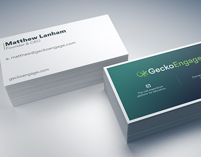 Gecko Engage Business Cards