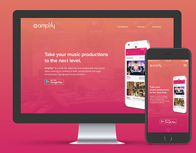 Amplify Marketing Website