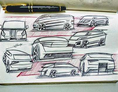 Analog Sketchbook (automotive)