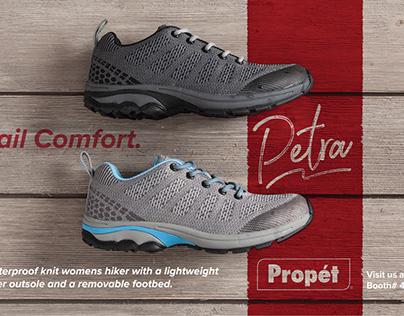 Propét Footwear Trade Ads