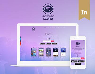 SCENE - Social Discovery Platform