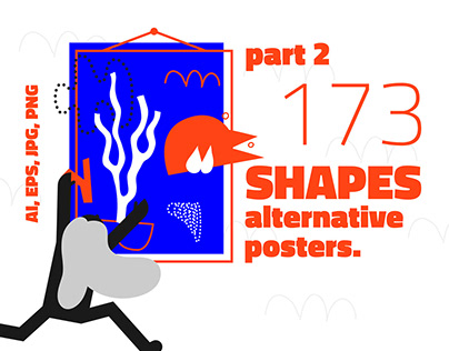 173 alternative shapes, posters. Part2