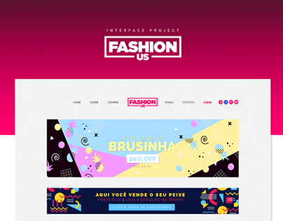 Fashion Us | Layout