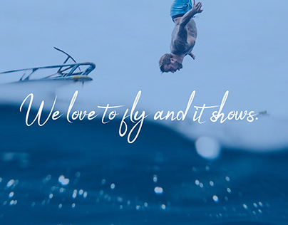 We love to fly and it shows.