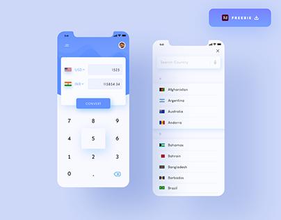 Currency Converter App - (Freebie)