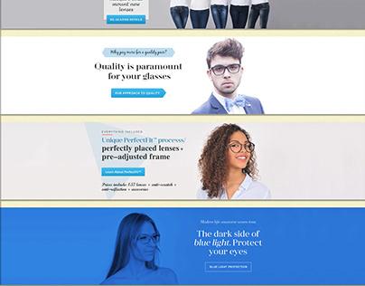 Website Slider Image Design