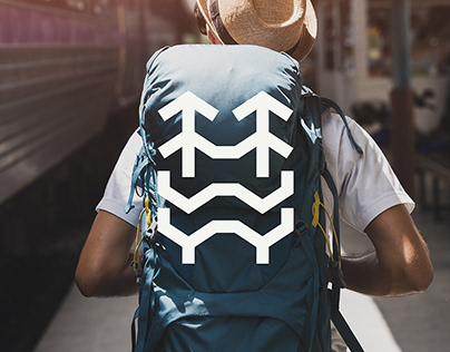 He Who Walks Alone Logo Design