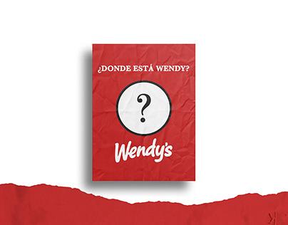 ¿Dónde está Wendy?