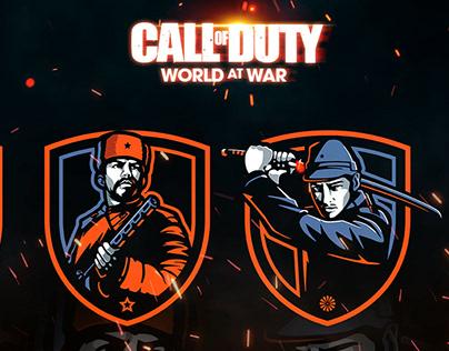 World At War - Esport Logo Project
