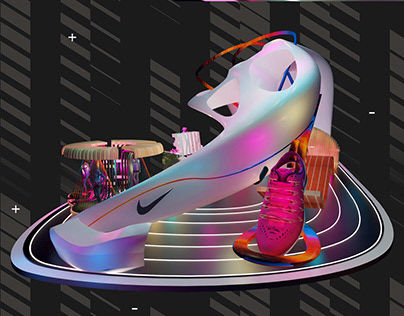Nike Running Exhibition Design