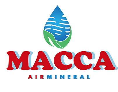 MACCA AIR MINERAL BRANDING ( DONE PROJECT )