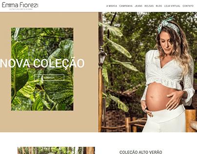 Website Emma Fiorezi Alto Verão 2019
