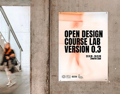 OPEN DESIGN COURSE LAB VERSION 0.3