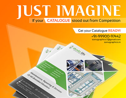 Catalogue Designing Services by Sonu Graphics