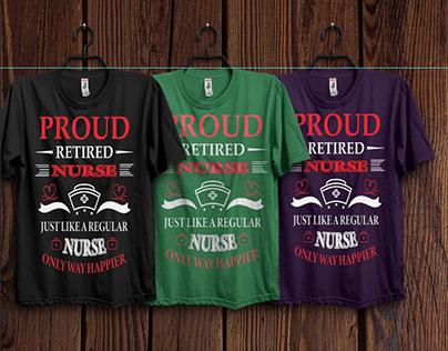 Nursing T-shirt Design Bundle