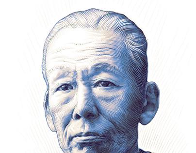 K.Takashima's_Cover ilustrl. for Diamond Mag. Japan