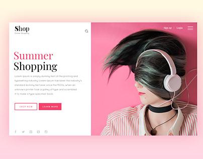 E-Commerce Template Design