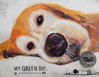 My GreenDay 一坨大大黃黃的