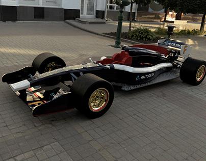 F1_ Modelo 3D