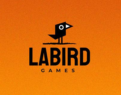 LABIRD Games - Brand Identity