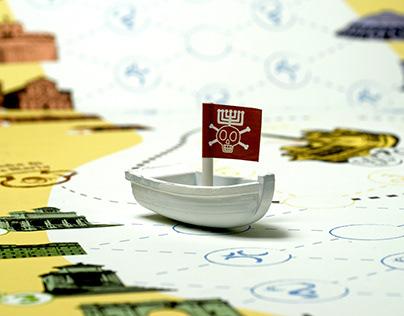 Tesoro del Tevere | Board game